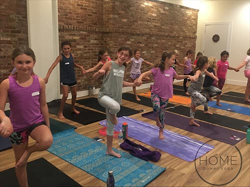 Acro-Hop Yoga (ages 6 - 10 years old) 6 week series