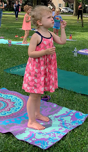 Yoga Friends (ages 3-6) Outdoor Summer Series