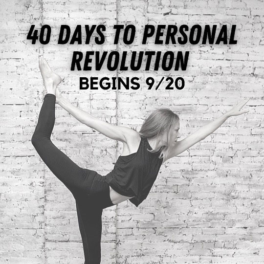 40 Days to a Personal Revolution